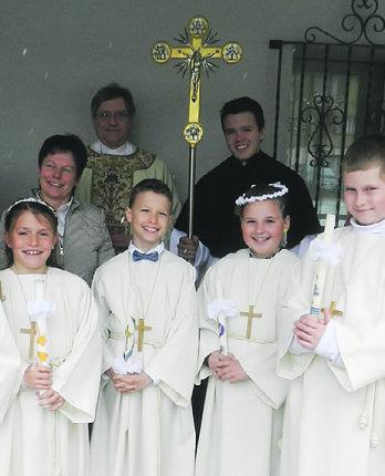 Erstkommunion findet statt
