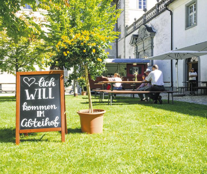 Willkommen zur  «Gastwirtschaft im Abteihof»