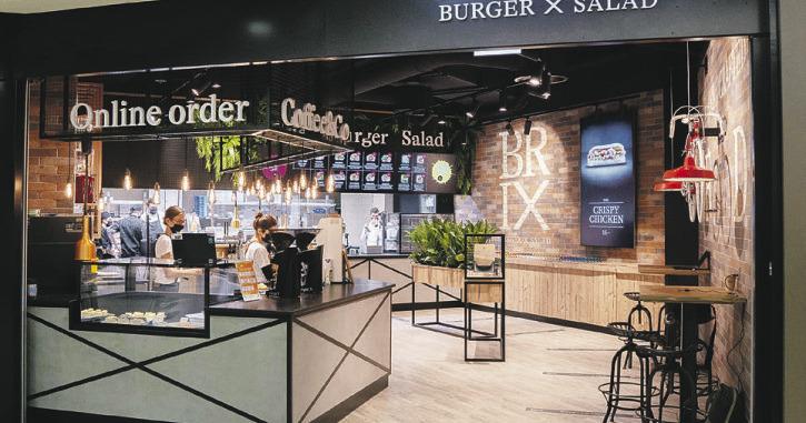 Im Seedamm-Center wurde ein neues Burger-Restaurant eröffnet