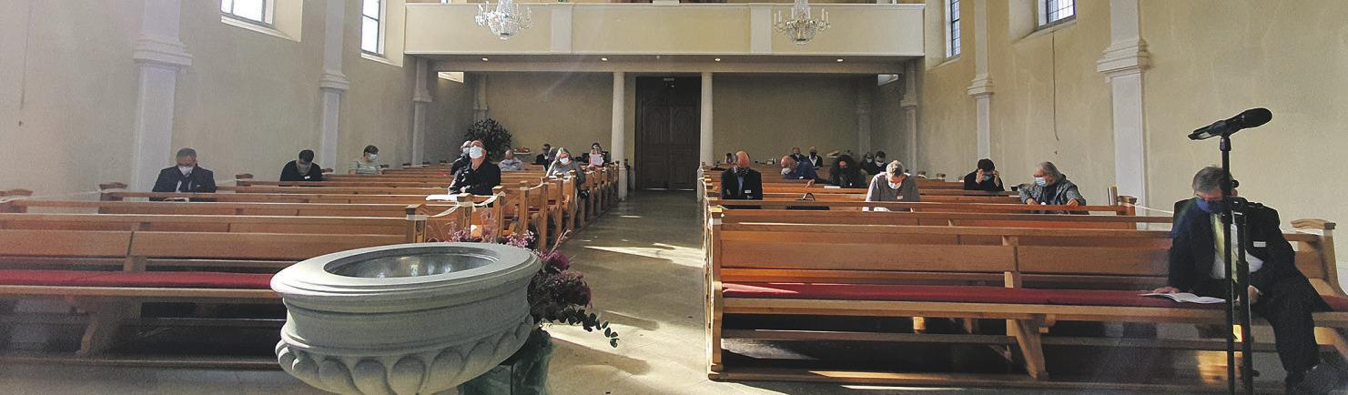 Synode stellt die Weichen  für die nächsten Jahre