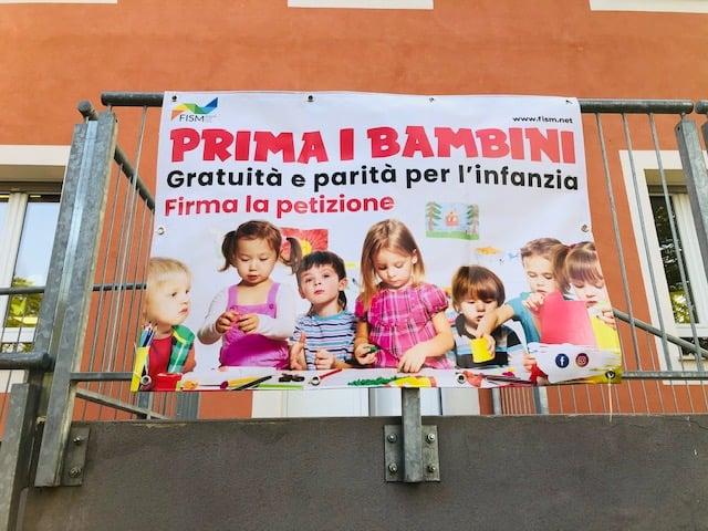 Gratuità e parità per l'infanzia: petizione della Fism