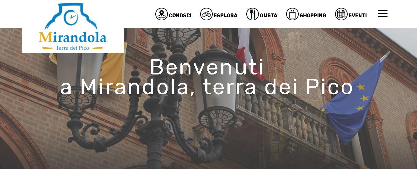 Mirandola: online il nuovo sito di promozione territoriale Terredeipico.it