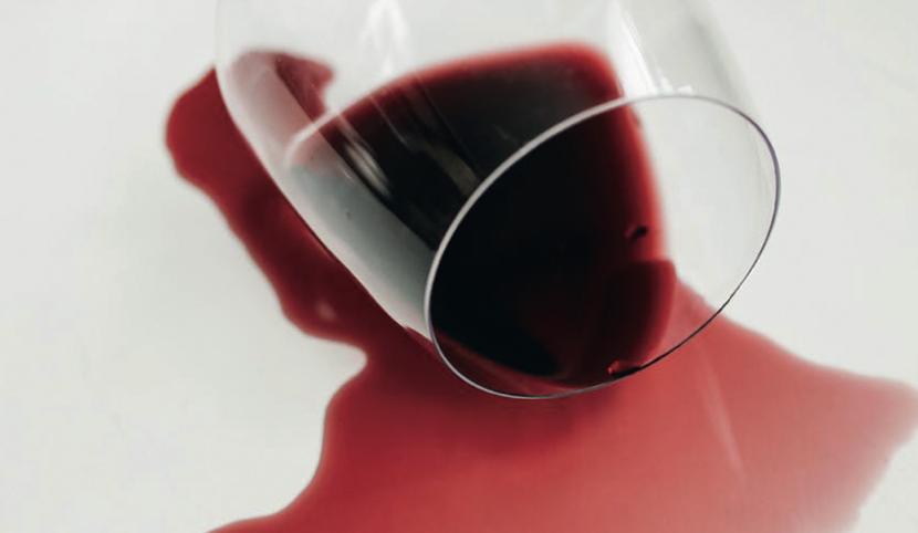 """Quell'apparente """"fuga"""" nel bicchiere di vino"""