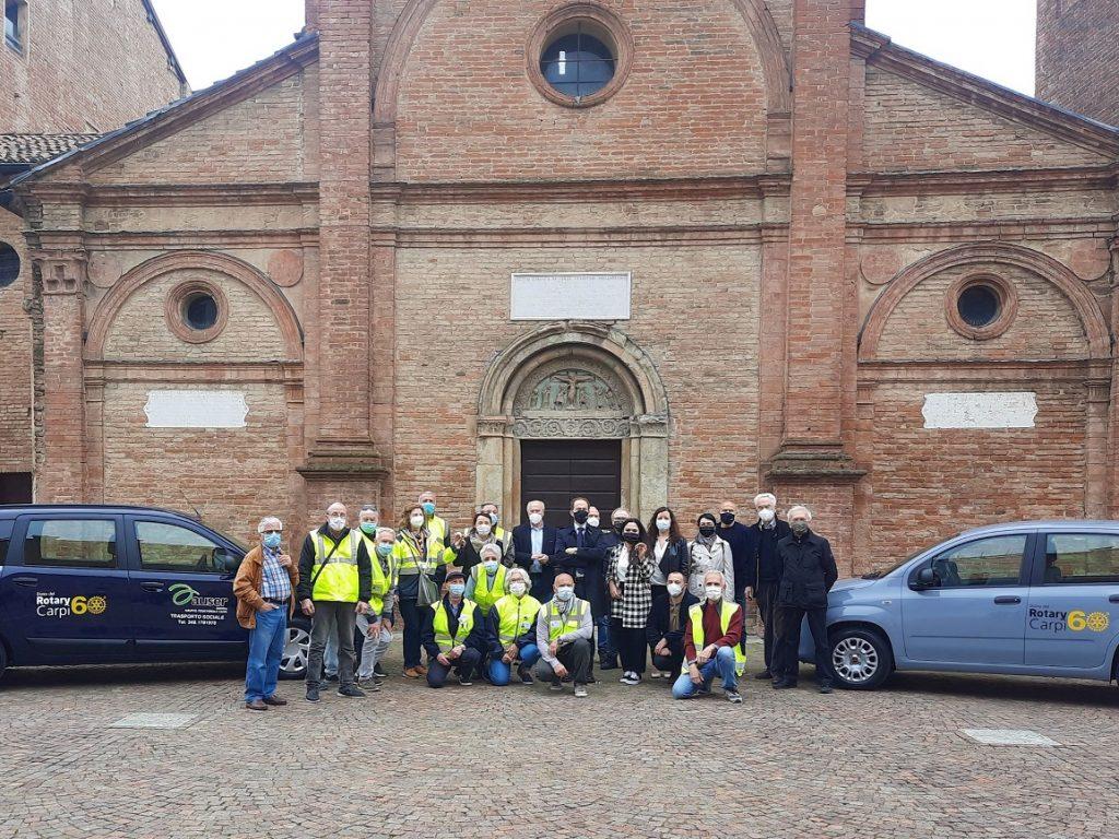 Il Rotary Club dona due auto ad Auser e a Sopra le righe-Dentro l'autismo