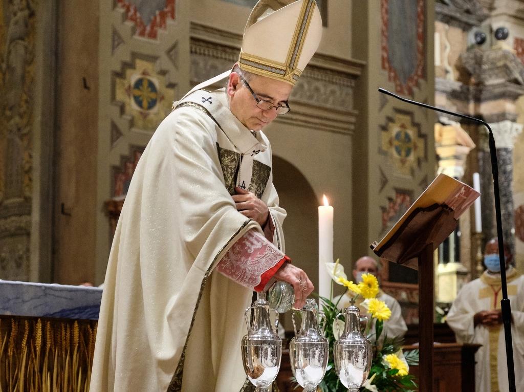Messa Crismale presieduta dal Vescovo