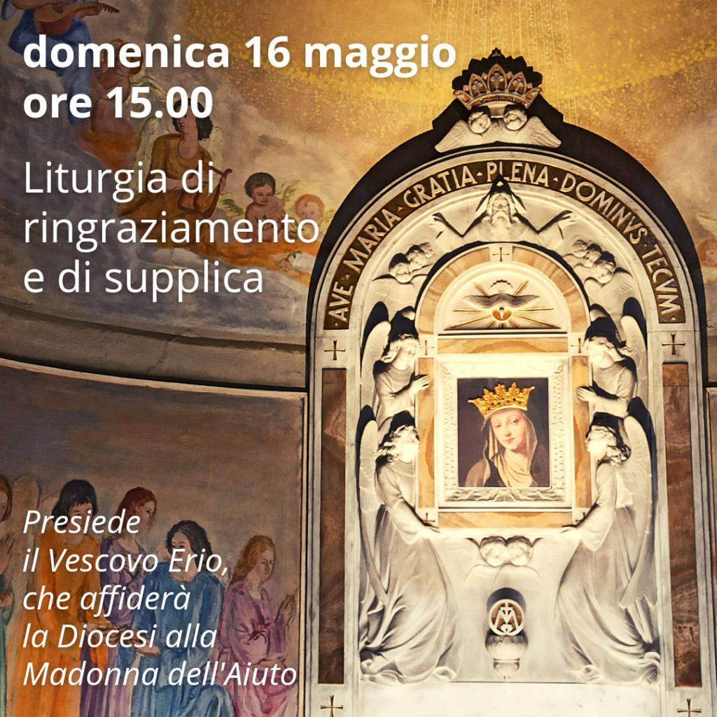 Santa Croce, il 16 maggio si prega al santuario diocesano