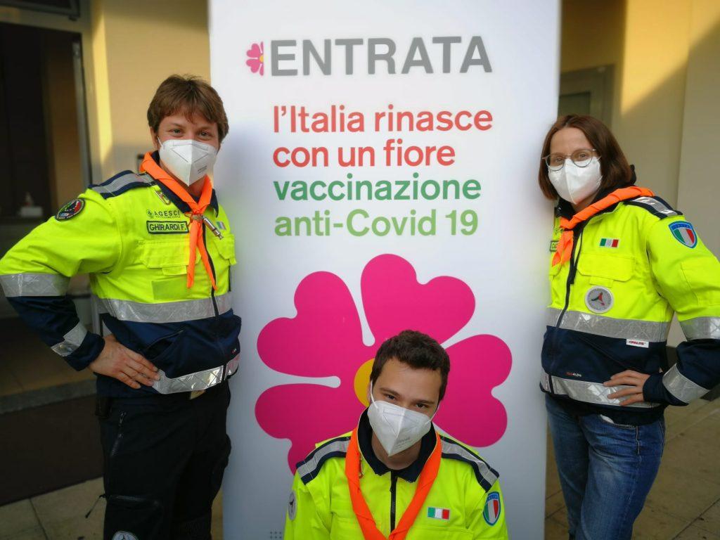 Agesci Emilia-Romagna in servizio ai centri vaccinali