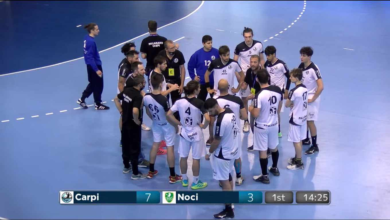 Pallamano, Carpi vola in semifinale playoff