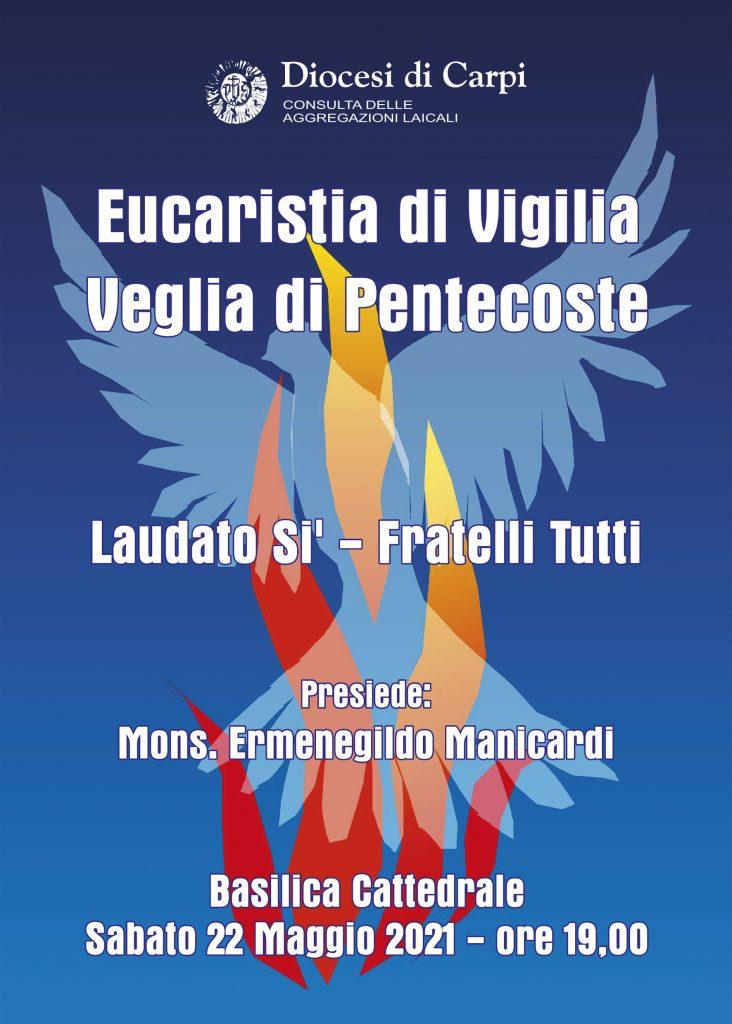 Veglia di Pentecoste sabato 22 maggio in Cattedrale
