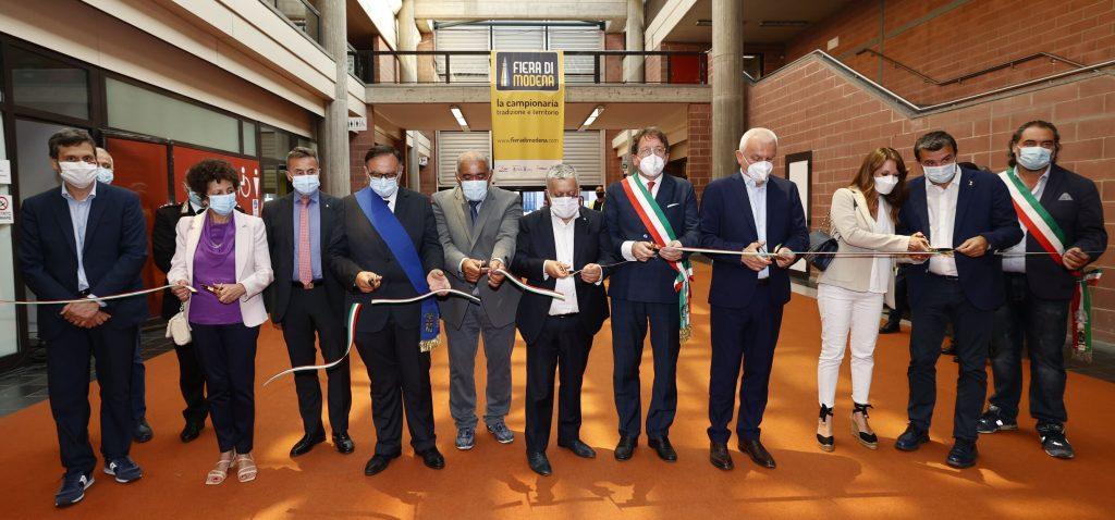 Inaugurata la Fiera di Modena