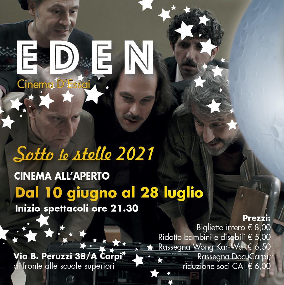 Cinema Eden, dal 10 giugno al 28 luglio Arena Estiva