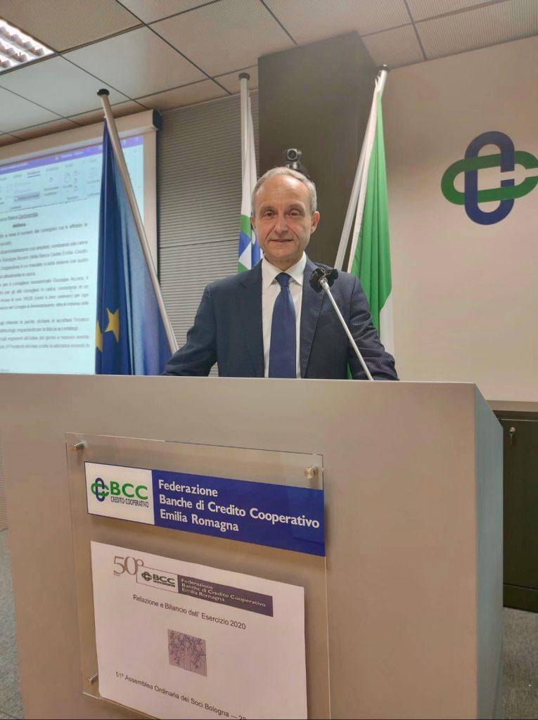 Federazione Bcc Emilia-Romagna, Fabbretti confermato presidente