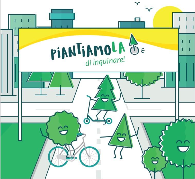 """""""Piantiamola di inquinare!"""", BPER per la mobilità sostenibile"""