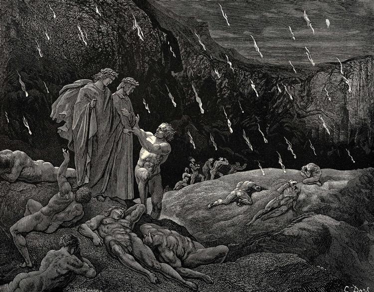 """San Possidonio, Dante e """"come l'uom s'etterna"""""""