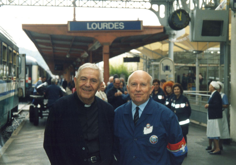 Centenario di don Levratti, adorazione con l'Unitalsi