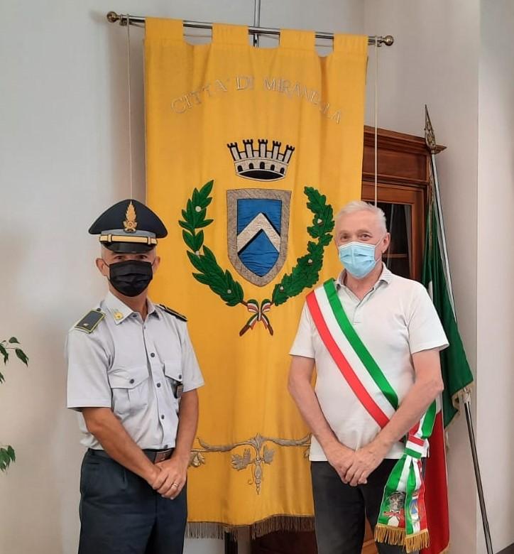 Mirandola, il Sindaco ha incontrato il Sottotenente Torresi