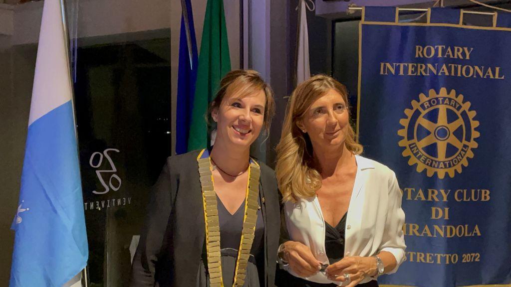 Mirandola, Roberta Roventini presidente del Rotary