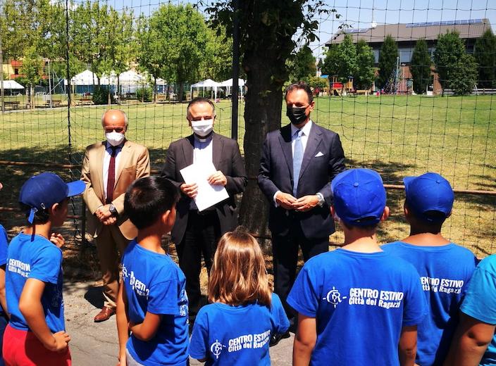 """""""Oratori estivi 2021""""  - Fondazione Banco San Geminiano e San Prospero  sostiene l'iniziativa"""