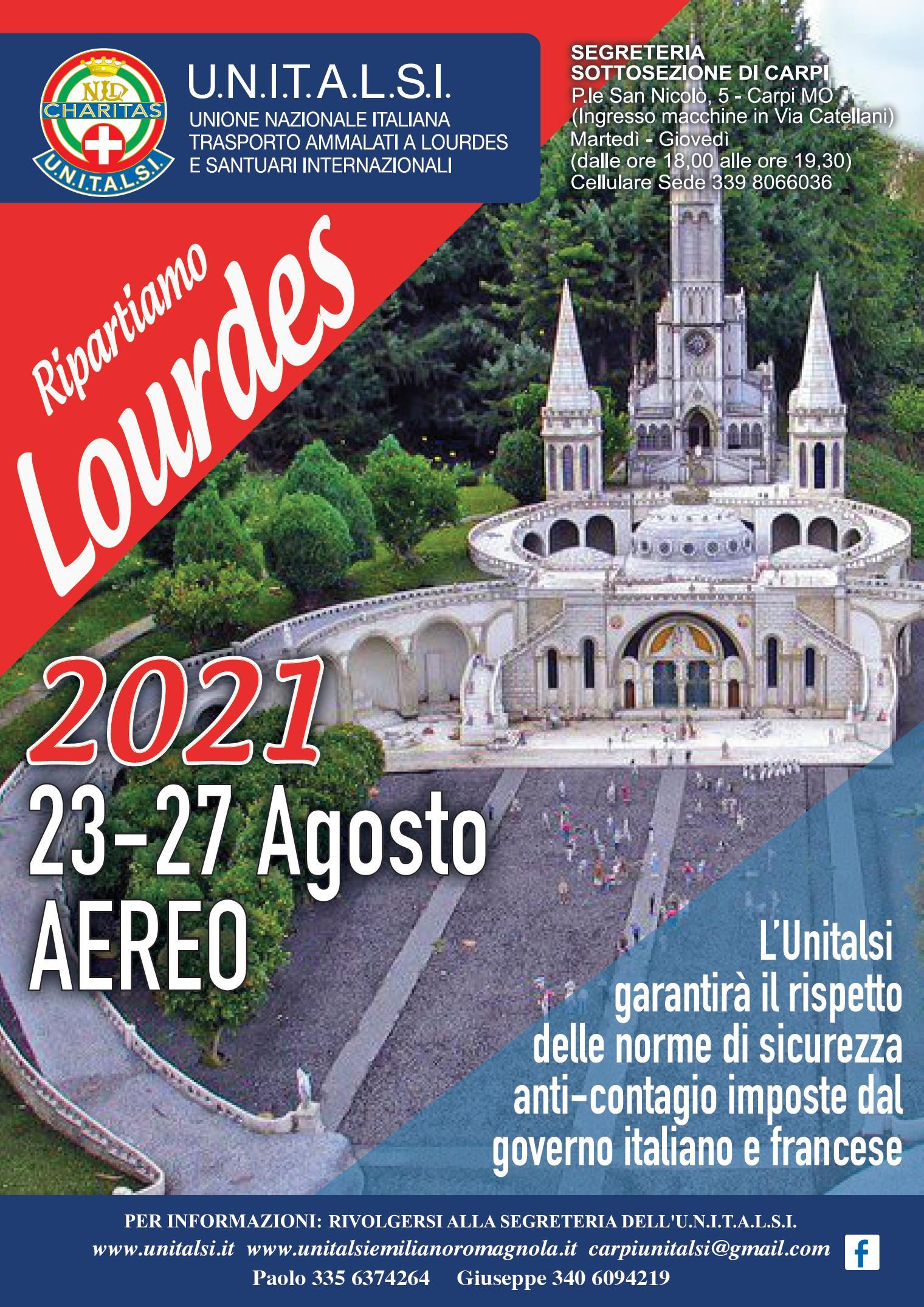Unitalsi a Loreto ma... si programma per Lourdes