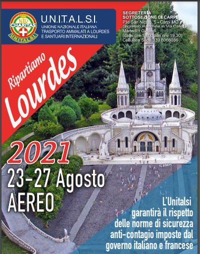 Si torna a Lourdes con l'Unitalsi. Una decina di pellegrini da Carpi
