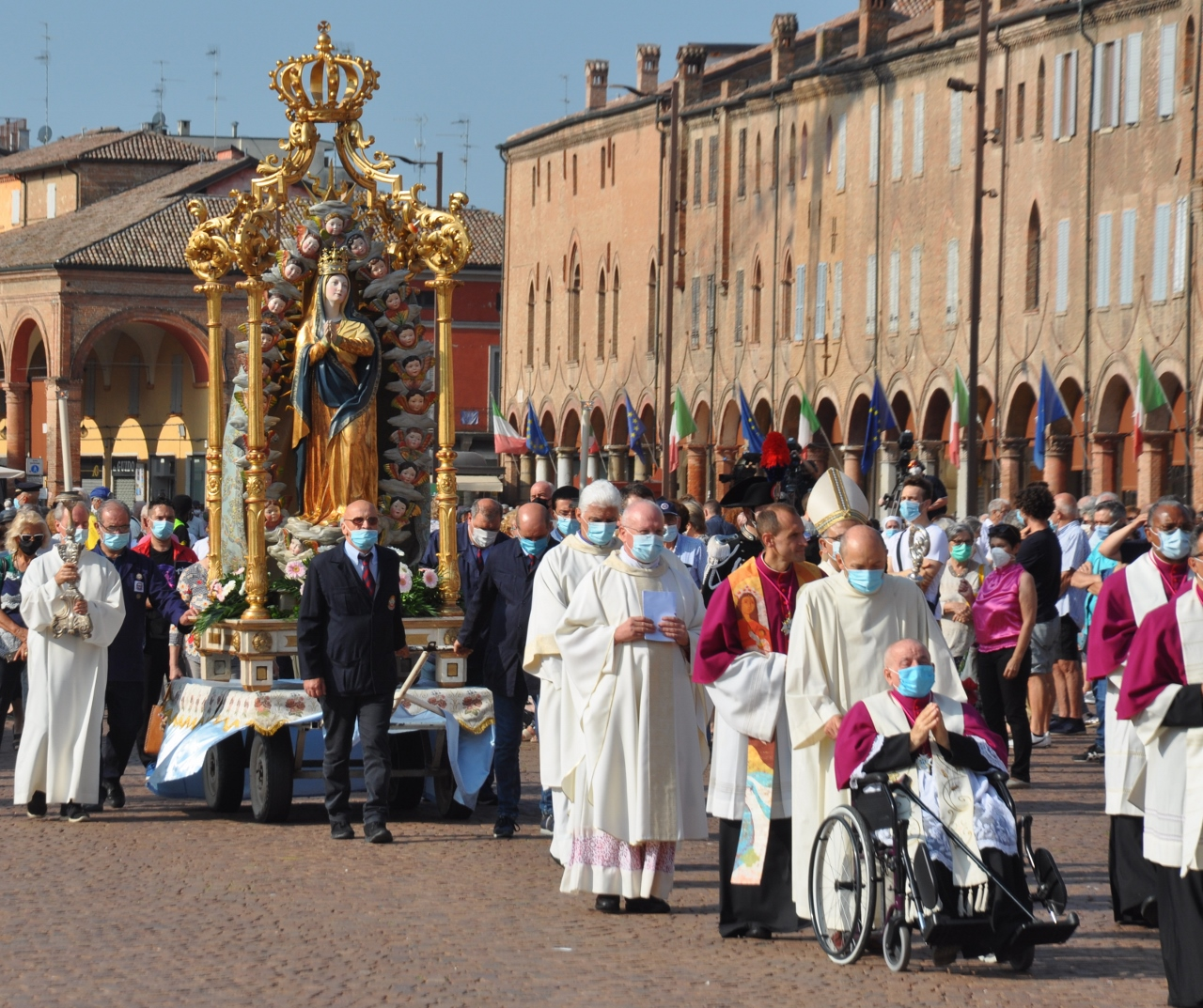 La Chiesa di Carpi celebra la Madonna Assunta