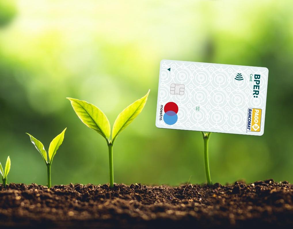 Bper Banca lancia la card in pvc riciclato