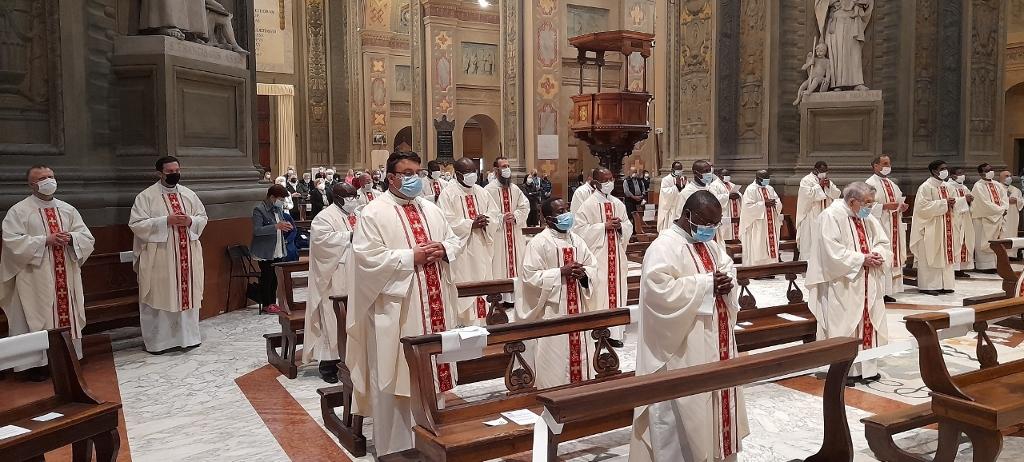 Festa del Curato d'Ars, sacerdoti e diaconi insieme