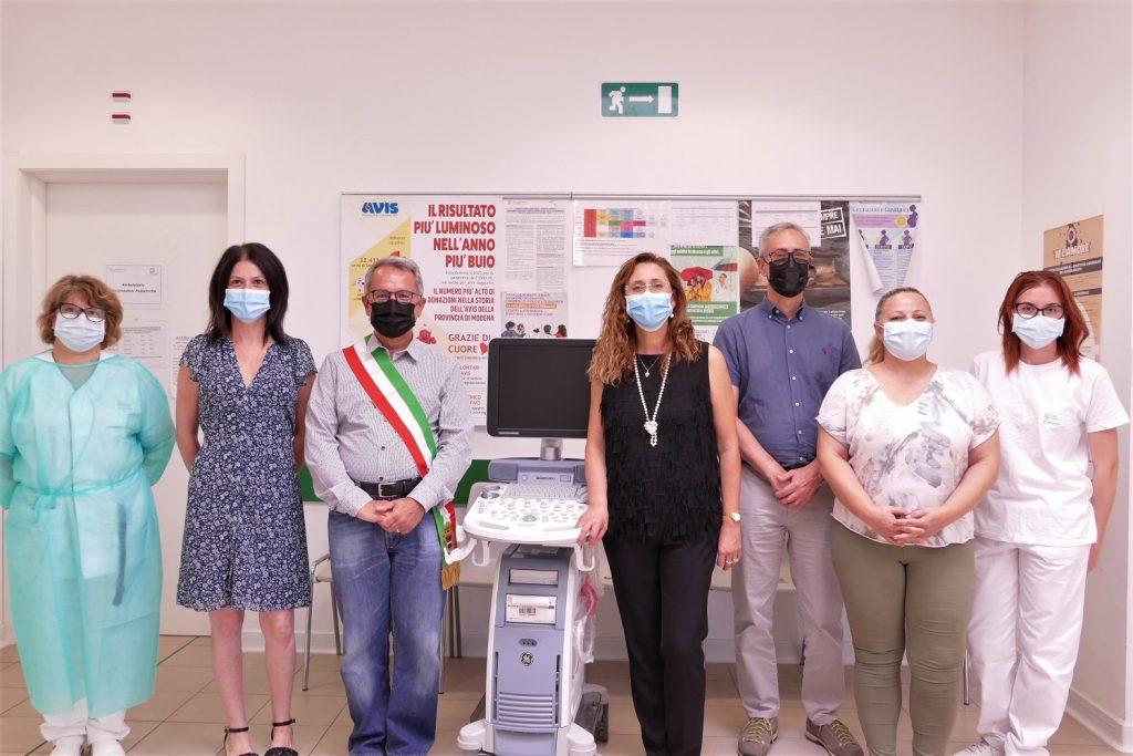 Casa salute di Novi - Donato un nuovo ecografo