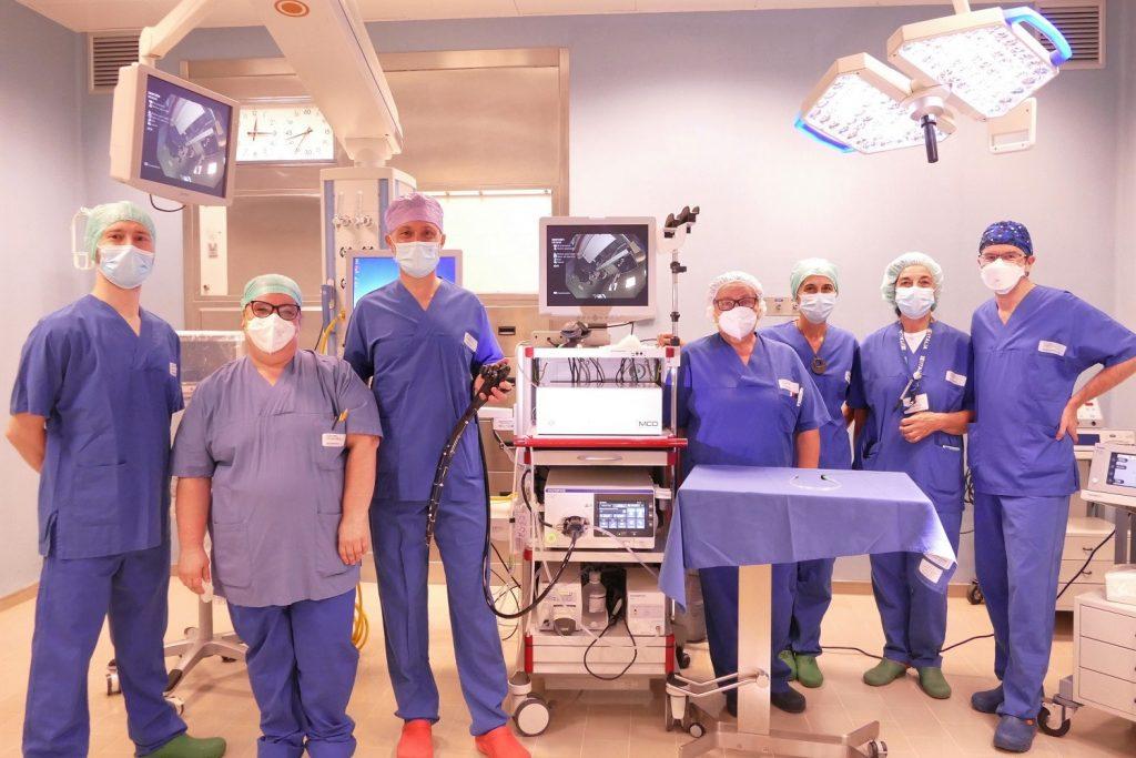 Ospedale di Mirandola, donati nuovi strumenti per le urgenze endoscopiche