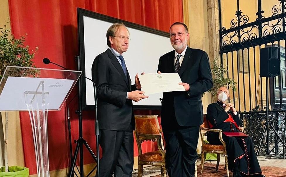 Unimore, Melloni Commendatore Ordine della Stella d'Italia
