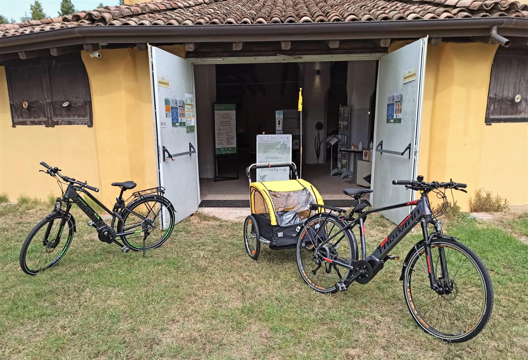 Barchessone Vecchio, due nuove e-bike a noleggio