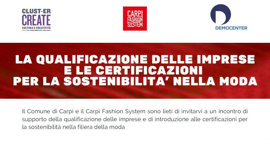 Carpi Fashion System, aziende e sostenibilità