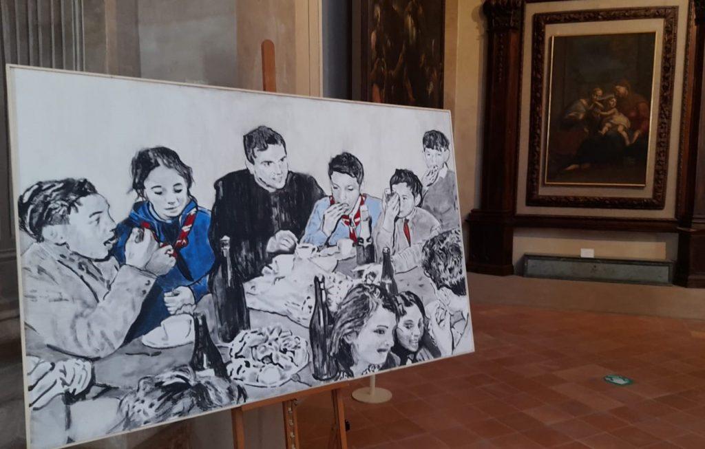 Carpi. L'opera 'Don Nino' di Andrea Saltini veglia sui ragazzi dell'oratorio