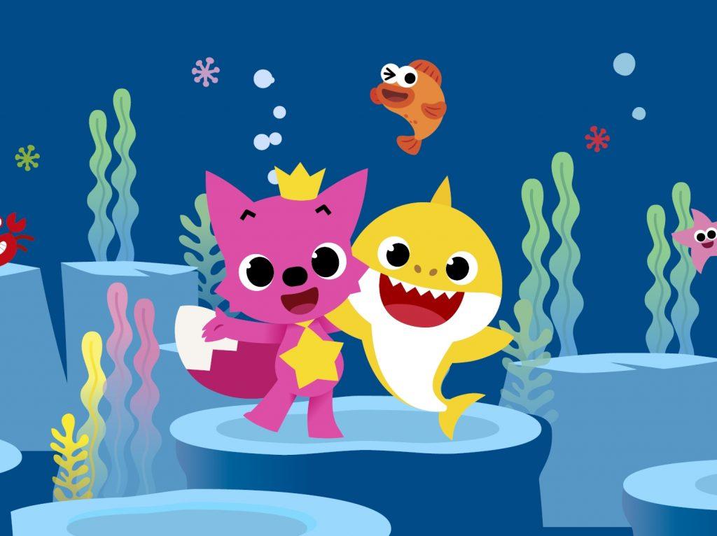Compleanno del Borgogioioso con Baby Shark