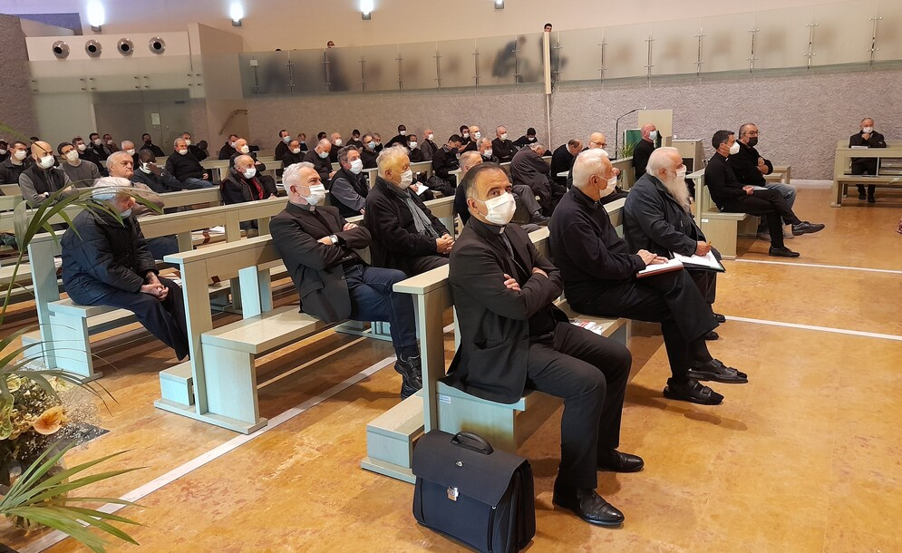 Sacerdoti di Modena e Carpi: la prima volta insieme
